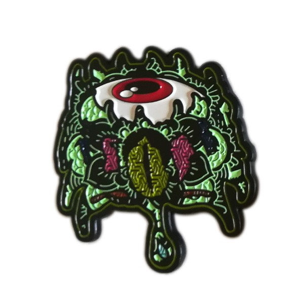Custom animal enamel lapel pin badge