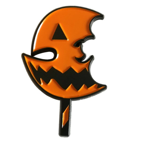 Halloween metal pin badge for promotion