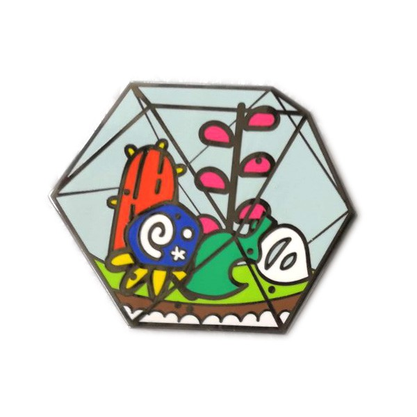 custom art enamel metal pin
