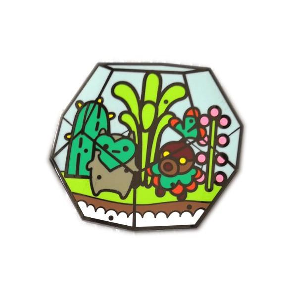 high quality cactus enamel lapel pin