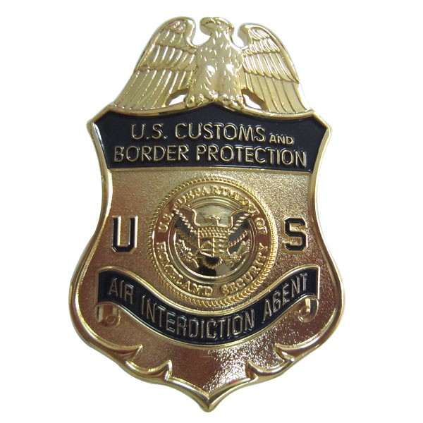 high quality metal military badge enforcement officer