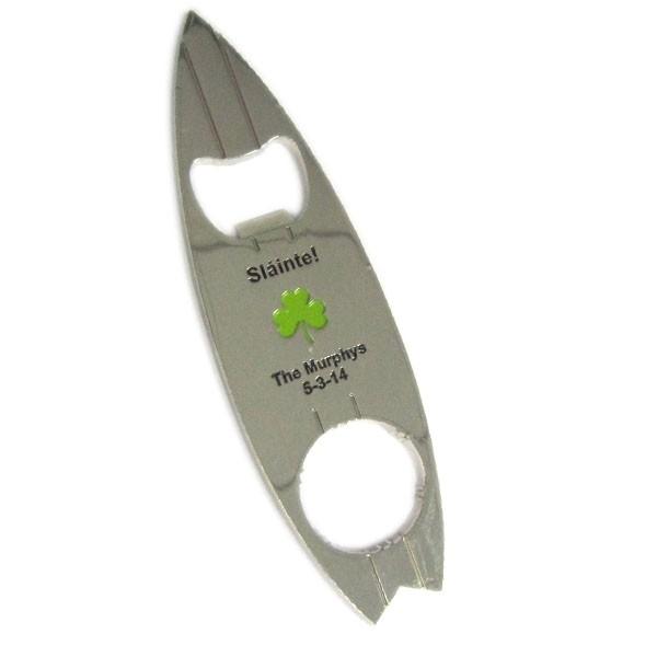 Custom wedding bar bottle opener for gifts