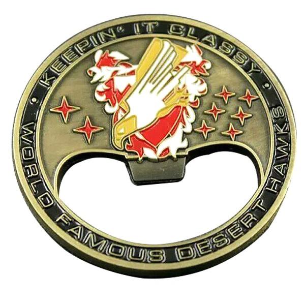 custom bottle opener coin challenge coin