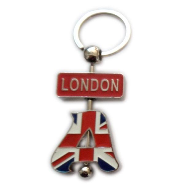 Custom souvenir letter keychain for london