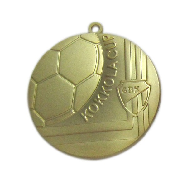 Custom sports football medal matt gold medal