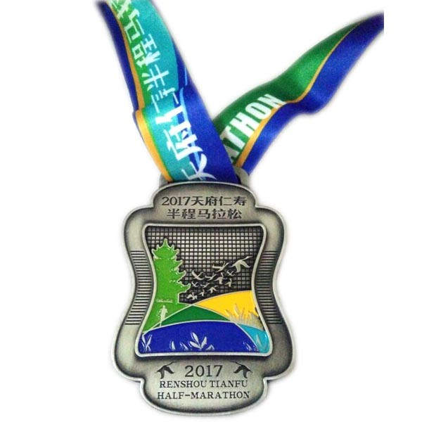 custom medals and trophies soft enamel medal