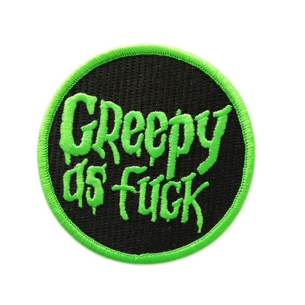 custom art embroidered patches